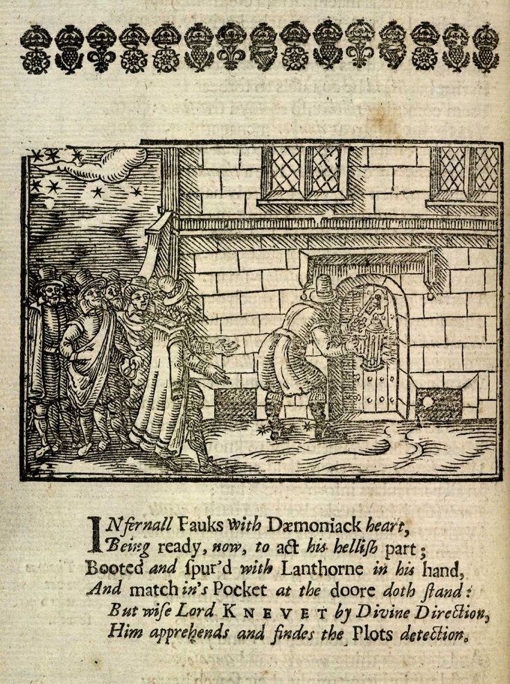 #Onthisday in 1605 the #GunpowderPlot was foiled. This print shows #GuyFawkes's arrest