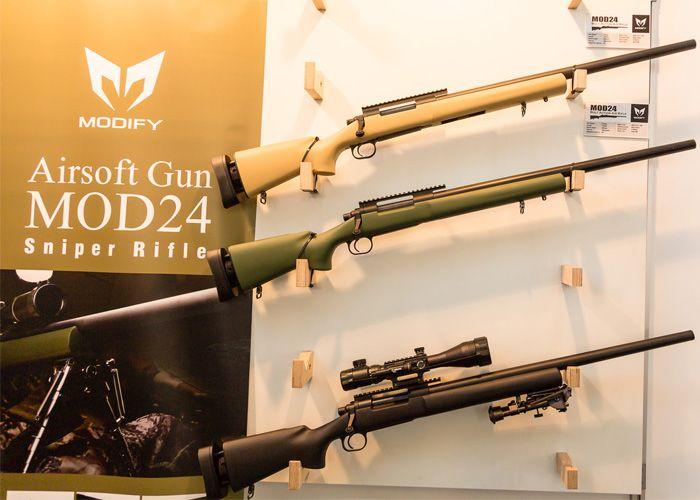 Modify MOD24 Rifle Upgrades Announced