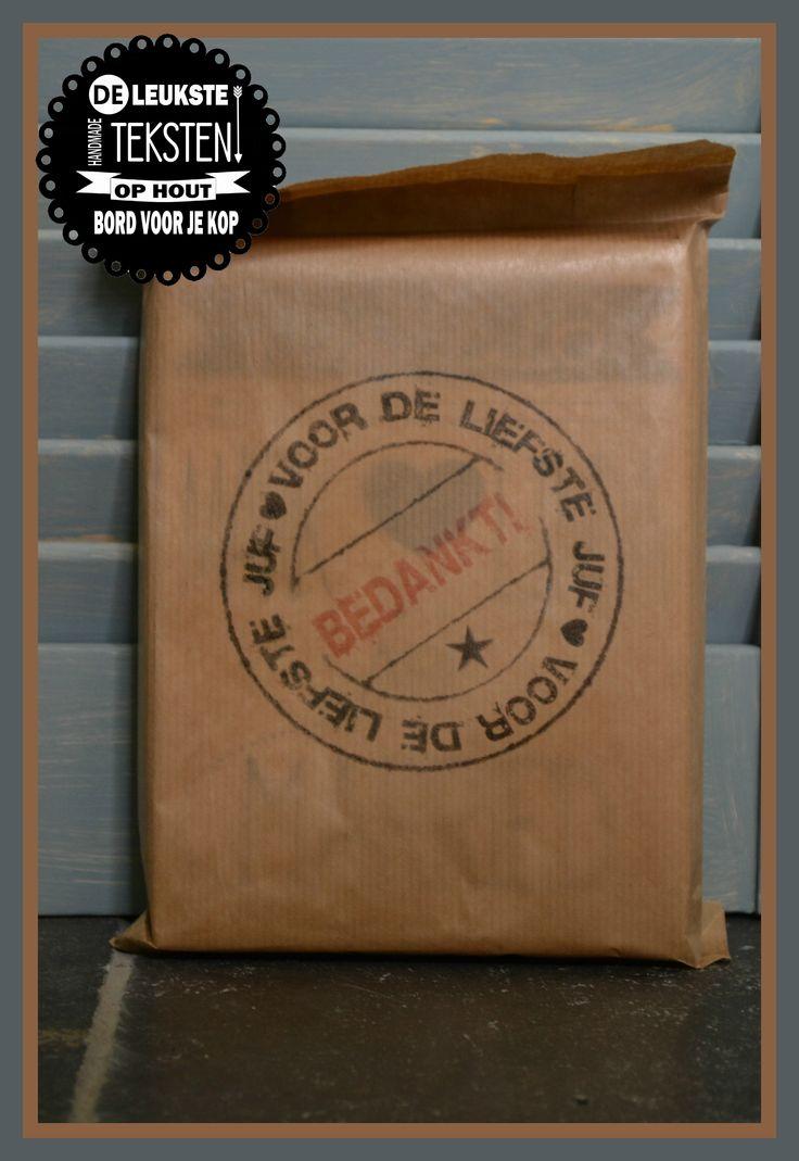 Paperbag met stempel