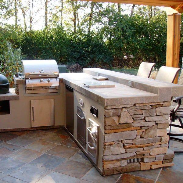 Hamilton Grill Island Project Outdoor Kitchen Decor Outdoor Kitchen Design Outdoor Kitchen