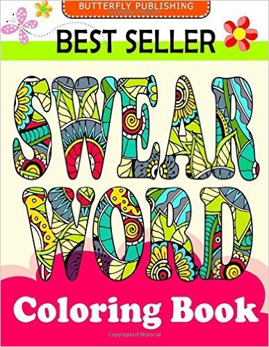 Swear Word Coloring Book Relaxation Series Books For Adults Grown Ups COLORAMA