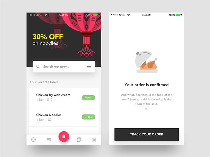 """Hello mates!  I would like to show you a new food application concept for iOS.  If you like it, show some love by pressing """"L"""". If you have any feedback on your mind, drop them in comment box.  che..."""
