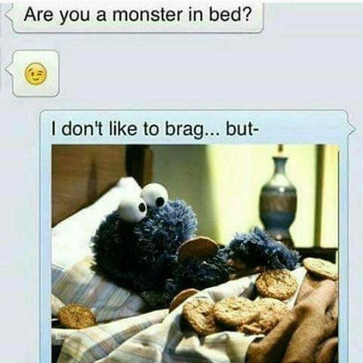 It's even better because it's the Cookie Monster