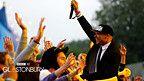 #majorlazer in the crowd at #glastonbury