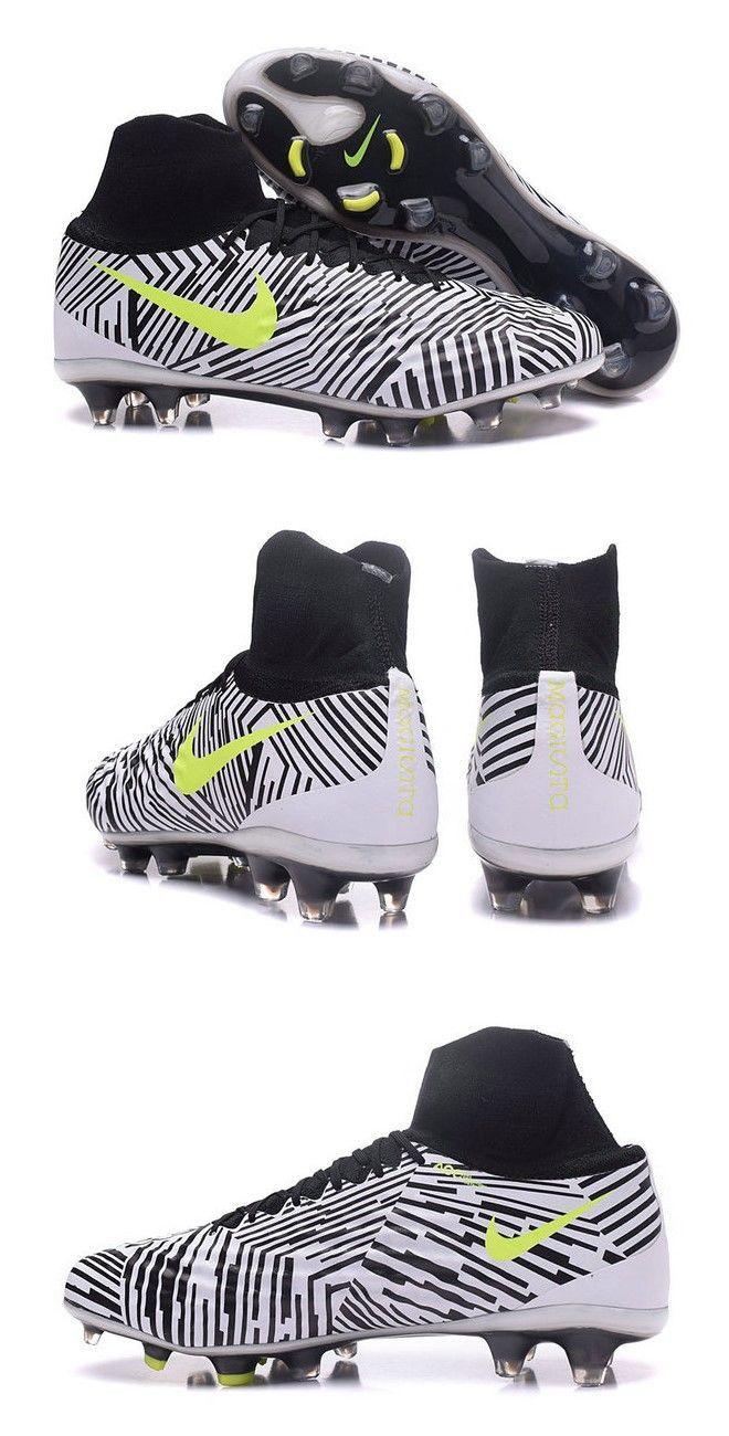 new styles e8da4 6d046 New Nike Magista Obra II FG ACC Soccer Boot Zebra Volt  futbolsoccer