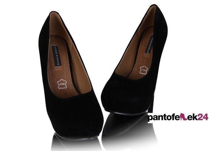 Czarne szpilki / Black heels / 39,90 PLN #heels #black #obcasy #buty #elegant