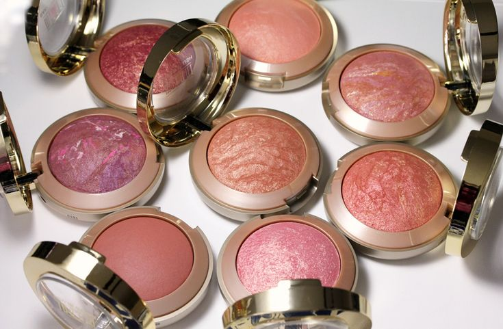 Milani Baked Blushes~ just as good if not better than many high end blushes.