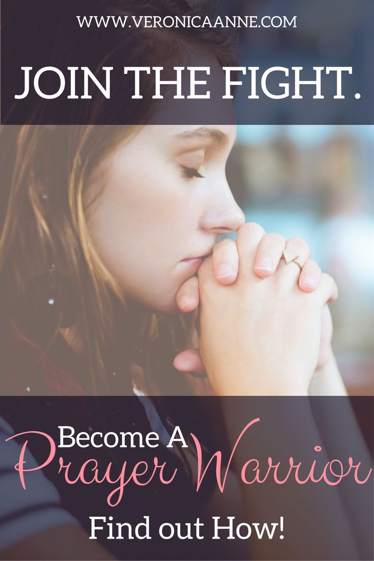 Find out how you can become a powerful prayer warrior!