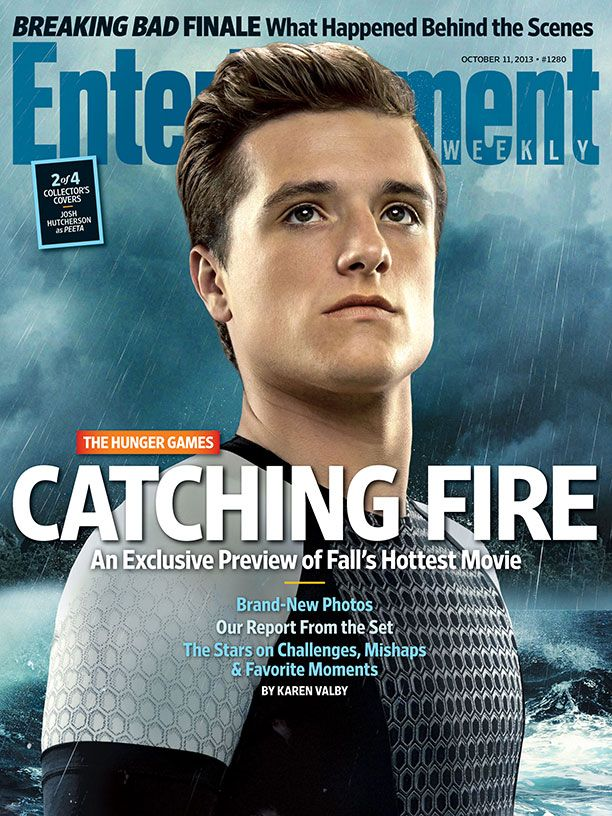 New Entertainment Weekly cover (Peeta version)