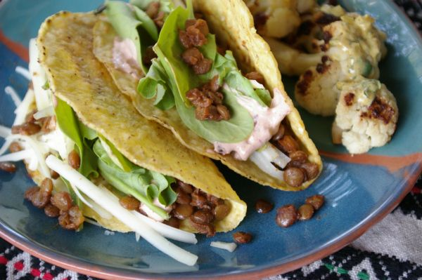 Spiced Lentil Tacos | Foodie - Tex-Mex | Pinterest