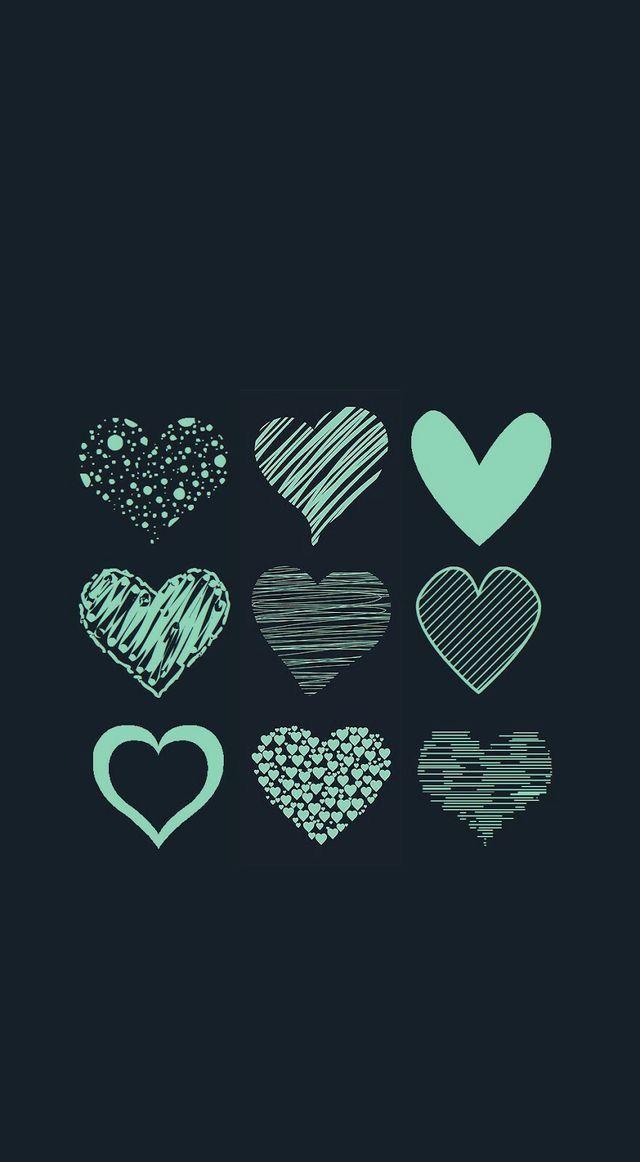 Ways to draw hearts