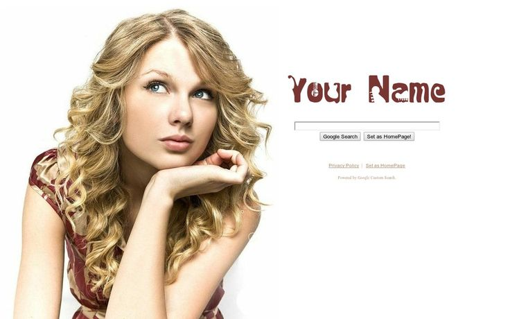 Taylor Swift Theme from ShinySearch