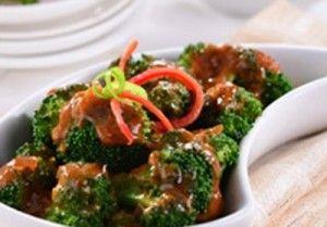 tumis brokoli saus manis, resep mudah dan cepat