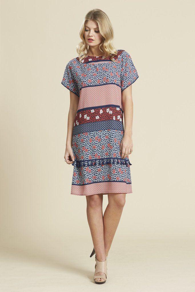 Scope Tassel Dress