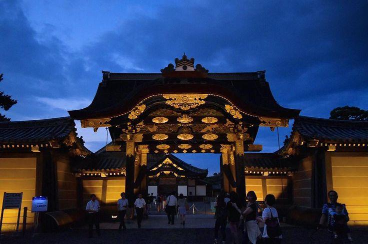' ' 京の七夕(二条城 唐門) ' 2016.8.3撮影 ' #kyoto #京都 #二条城 #唐門 #世界遺産 #京の七夕 #七夕 #lightup #nightview #ライトアップ #夜景 #team_jp_ #gf_japan #igersjp #ig_japan #ig_nippon #wu_japan #loves_nippon #lovers_nippon #japanfocus #icu_japan #wonderful_places #ptk_japan #japan_night_view ' #team京都 #team_jp_西 京都 #ぶらり京都撮影部 ' #k_京の七夕2016
