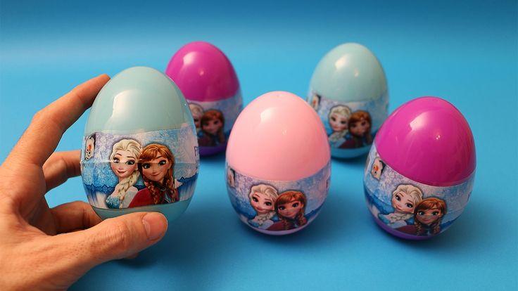 FROZEN ELSA Surprise eggs - Disney Frozen Toys - Disney Frozen Video