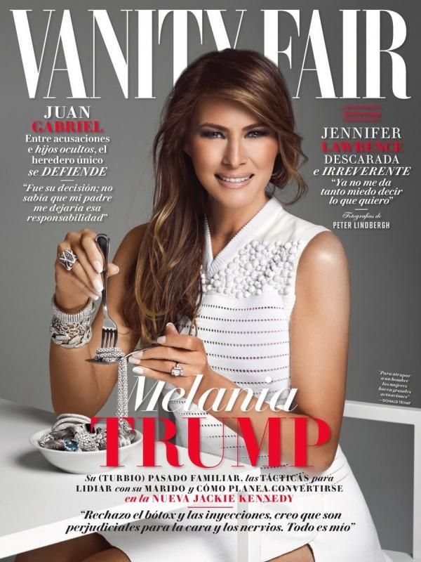 Tuai Protes, Melania Trump Santap Berlian di Sampul Majalah - http://wp.me/p70qx9-7LX