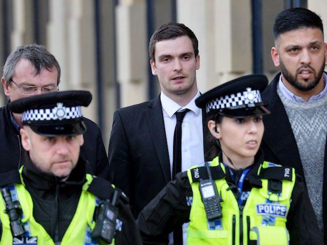 Ex of Adam Johnson's sister warned after 'harassing footballer's teenage victim'