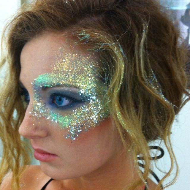 mermaid makeup and hair - Google Search
