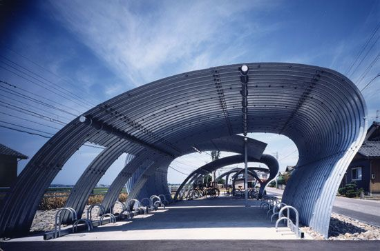 endo shuhei architect institute: trainstation O