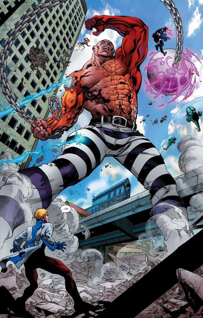 The Absorbing Man an incredible Hulk villain.