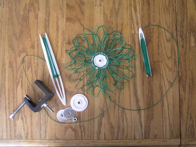 How to make a cast net abaco forum fishing pinterest for Diy cast net
