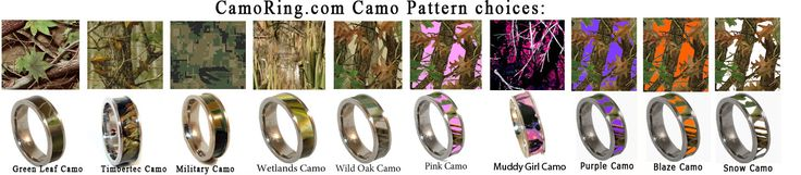 camo Engagement Ring | Welcome to CamoRing.com Online Store!