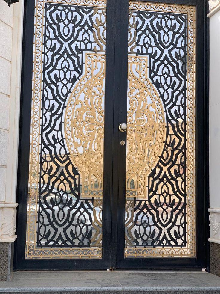 Laserdoors Metaldoors Lasercut Riyadhdoors Caddesign Arabiandoors Gate Gatedesign Door Doors Laser Nice Iron Door Design Glass Doors Interior Door Gate Design