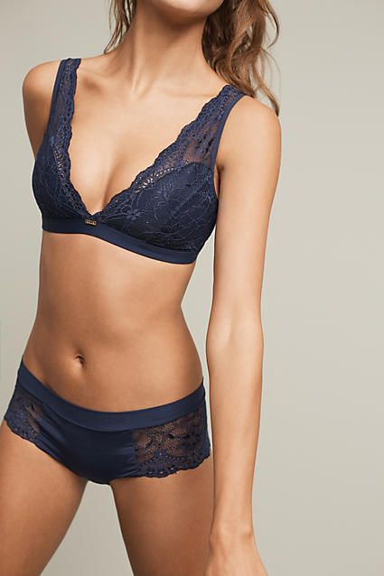 Adriana Lace Bralette - anthropologie.com