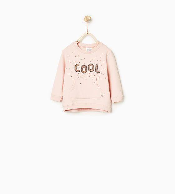 Basic sweatshirt - Cool, str. 104