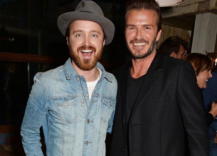 Celebrities Really Love Meeting David Beckham | Pictures | POPSUGAR Celebrity UK