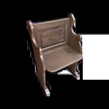 Banc en chène 250 € Banc d'église en chène Avec ce type de mobilier plus que jamais vous pourrez faire partie des envies et des tendances actuelles en matière de style de vie. Bancs d'église en chêne