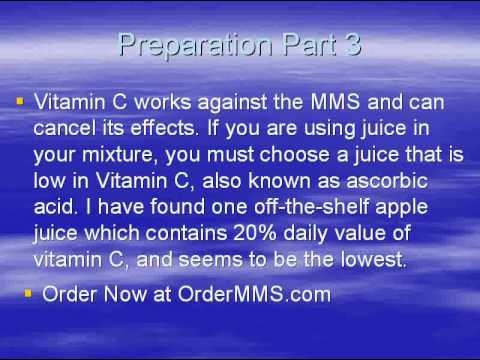 How to use Miracle Mineral Solution - Jim Humble - Miracle Mineral Supplement - MMS