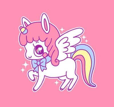 My friend told me I was delusional ... I almost fell off my unicorn !!