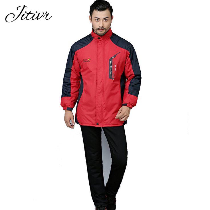2017 New Women & Men's Coats Plus Size WaterProof Warm Casual Fall Windbreaker Zipper Coats With Pockets Hooded Warm Jackets #Affiliate