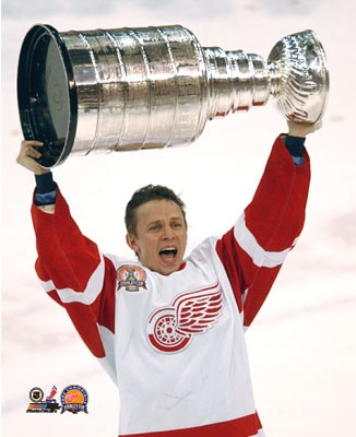 Igor Larionov with Stanley Cup, 2002