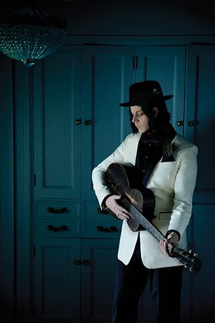 Jack White Hits the Road on 'Lazaretto' Summer Tour  Read more: http://www.rollingstone.com/music/news/jack-white-hits-the-road-on-lazaretto-summer-tour-20140407#ixzz2yIYM7T00 Follow us: @Michelle Rolling Stone on Twitter | RollingStone on Facebook
