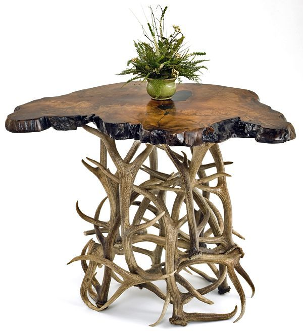 Elk antler table... I need more antlers...