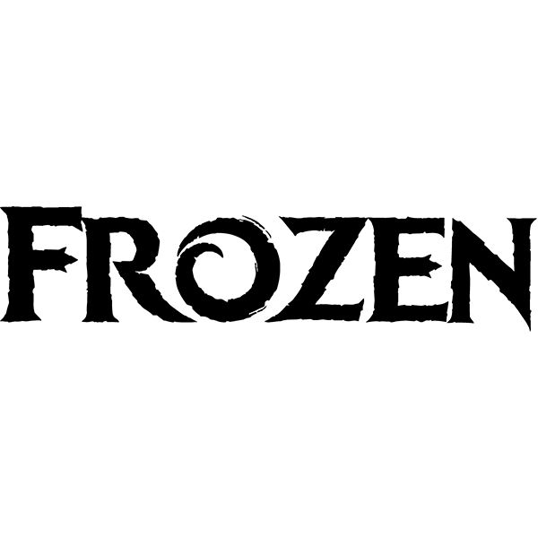 Download the free font replicating the title logo from the movie Frozen and many more at the ORIGINAL Famous Fonts!