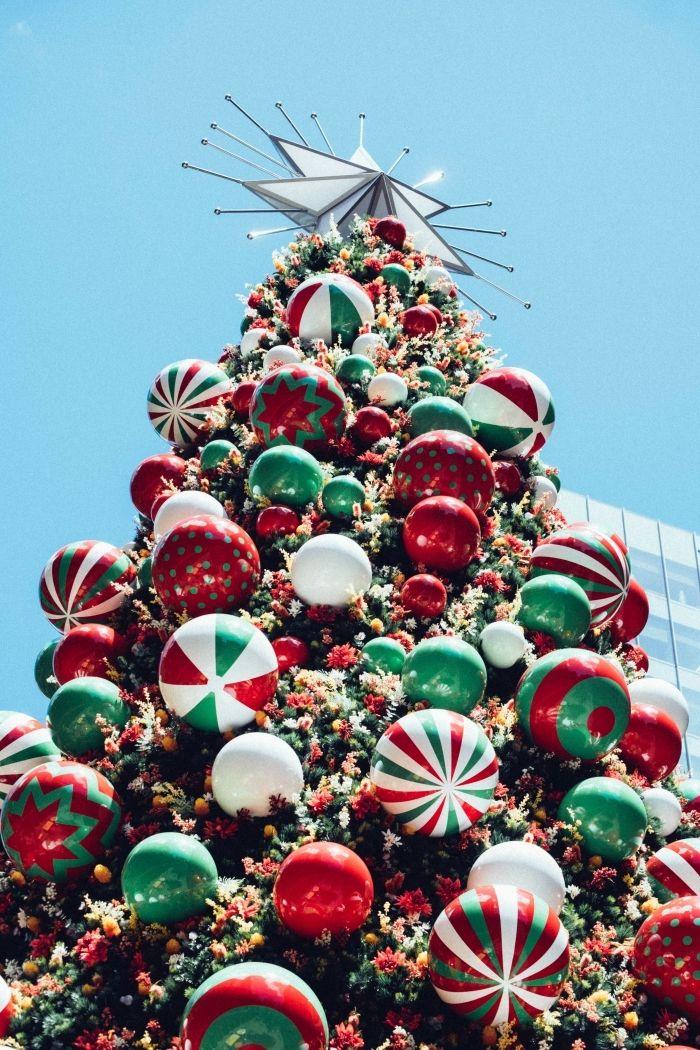 1001 + idées inspirantes d'une image de sapin de Noël