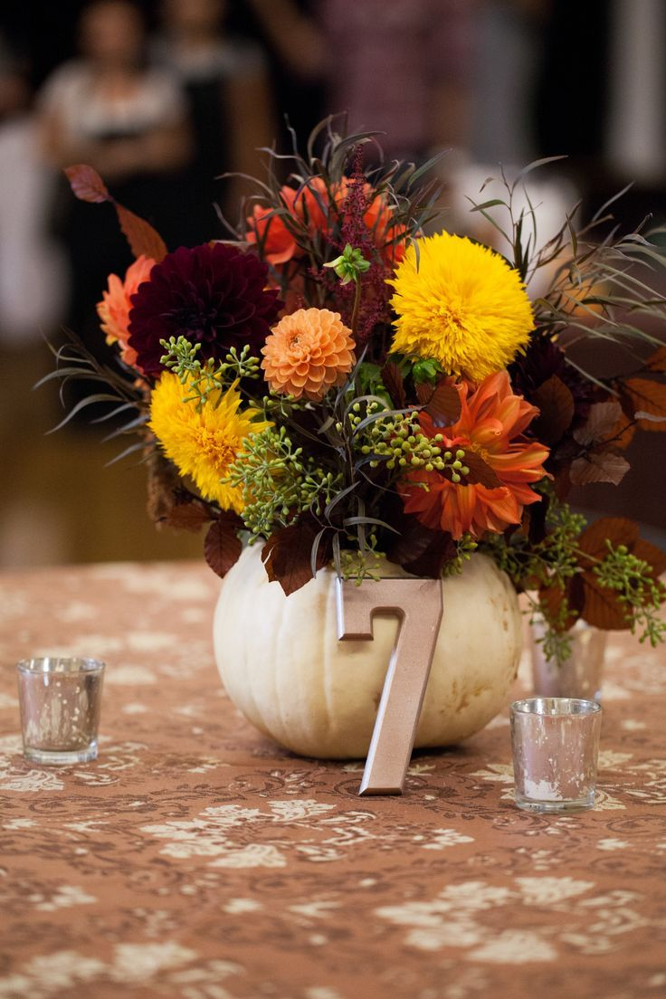 Best white pumpkin centerpieces ideas on pinterest