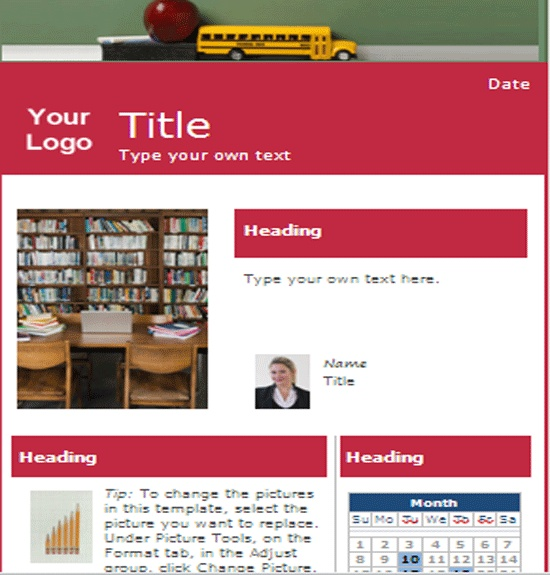 21 best Newsletters images on Pinterest School newsletters - school newsletter templates