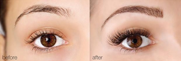Eyebrow Extensions - interesting. ..