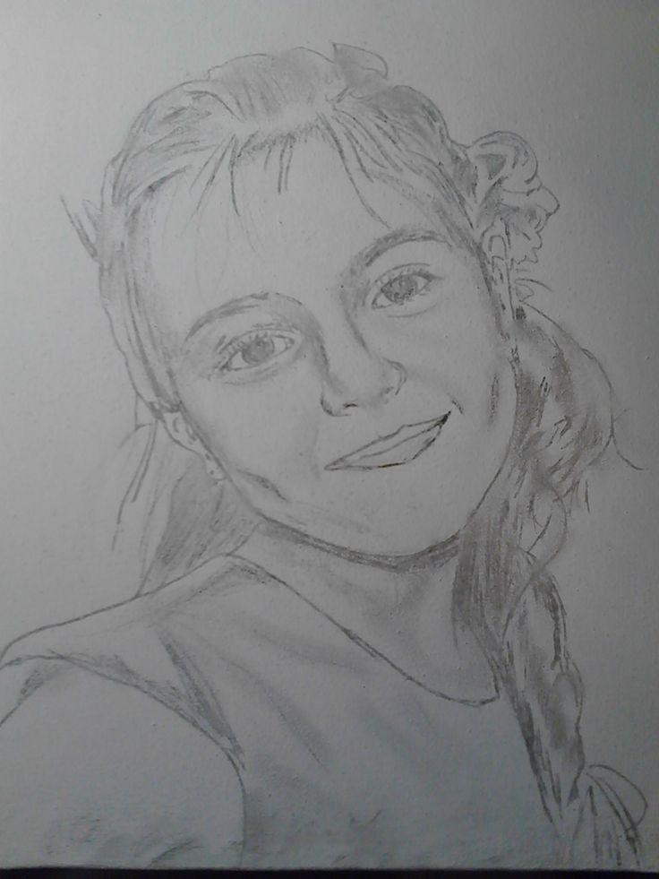 Crochiu,model :copil.  //// Sketch, model: child