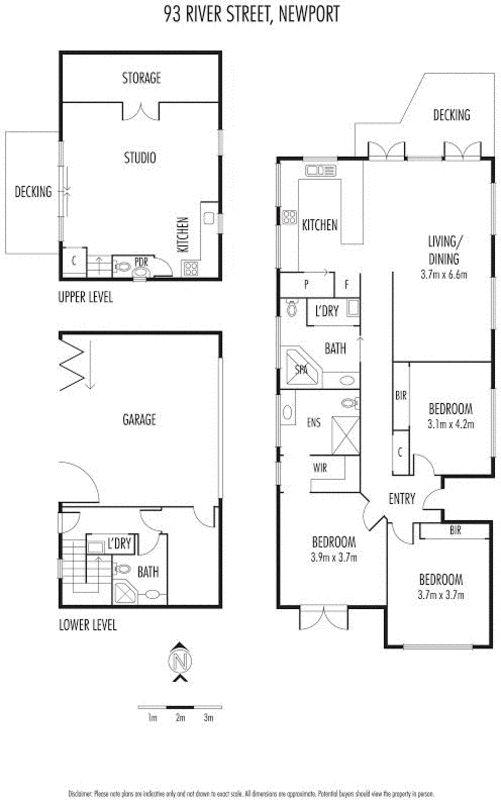 93 River Street, Newport, Vic 3015 - floorplan