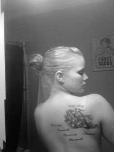 US Army tattoo: Come to fight,  trained to kill, Prepared to die, but never will. Yes, I want this.