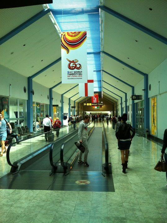 Bandaranaike International Airport (CMB) in Katunayaka North, Western