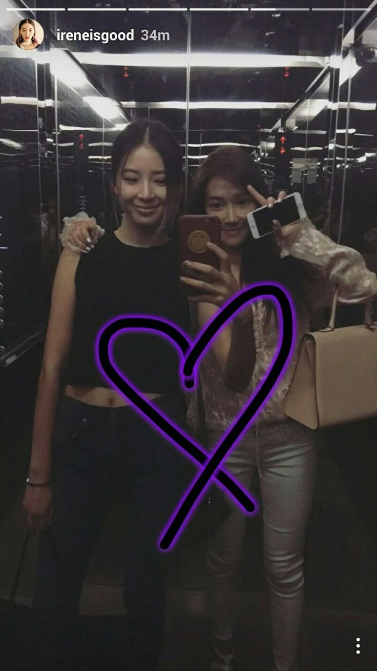 Irene Kim Instagram Stories Update with Jessica Jung.