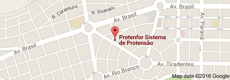 Mapa de Protenfor Sistema de Protensão