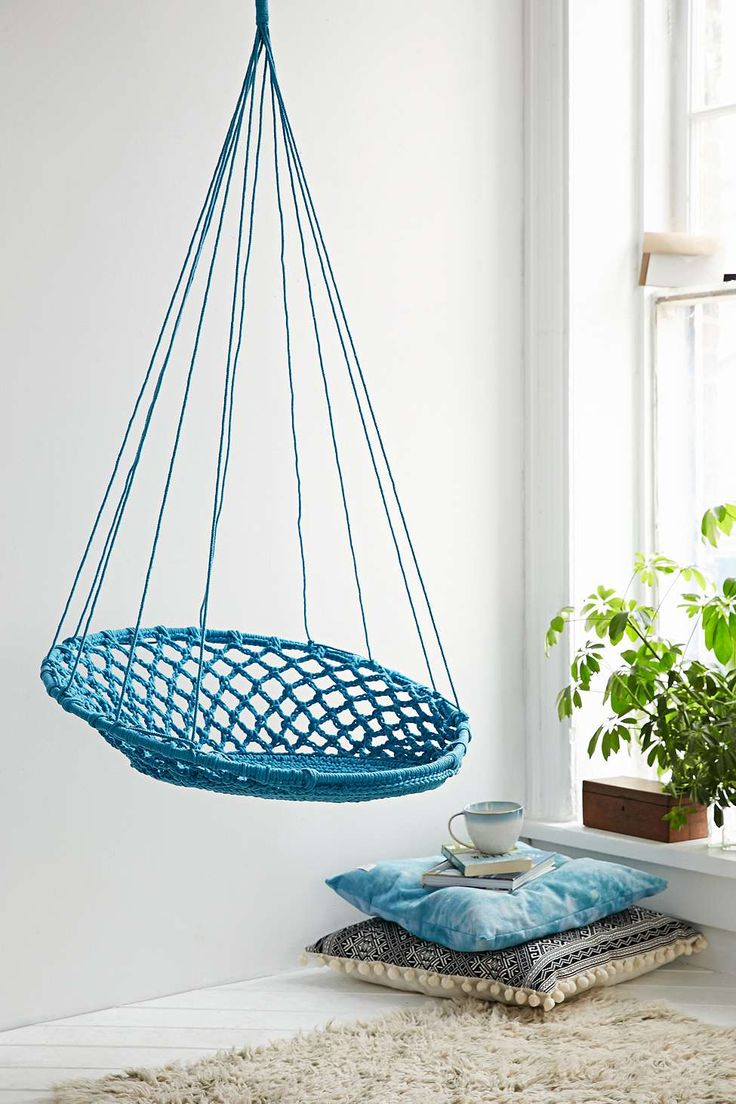 Chaise Suspendue Bleue Urban Outfitters What A